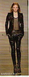 ensemble pantalon cuir barbara bui