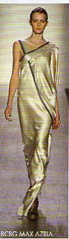 robe decolleté assymétrique BCBG