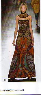 robe folklore russe etro