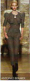 Tailleur pantalon Antonio Berardi
