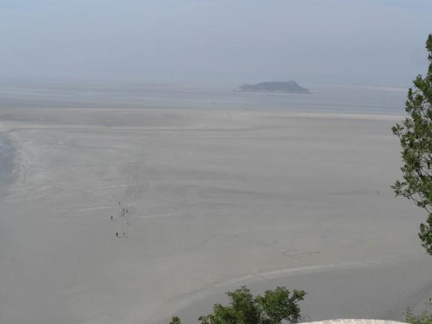 Randonneurs Baie du Mont Saint Michel